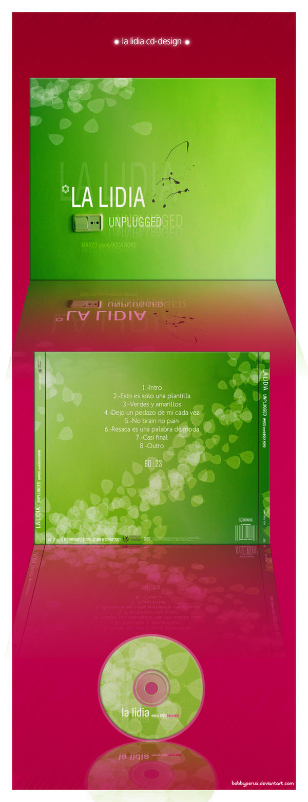 La Lidia CD-design by Bobbyperux