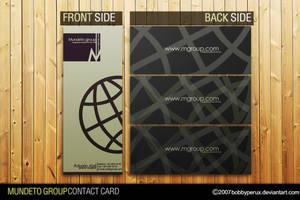 Mundeto Contact Card by Bobbyperux