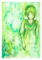 Dandelion Wish by Sylfonis