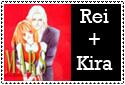 Rei and Kira by mayonakaokami