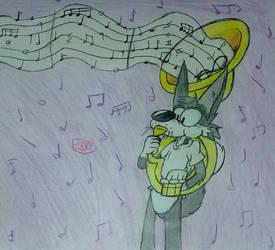 Walter y su mundo musical ^^