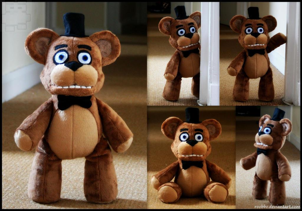 Five Nights At Freddy's - Freddy Fazbear - Plush by roobbo