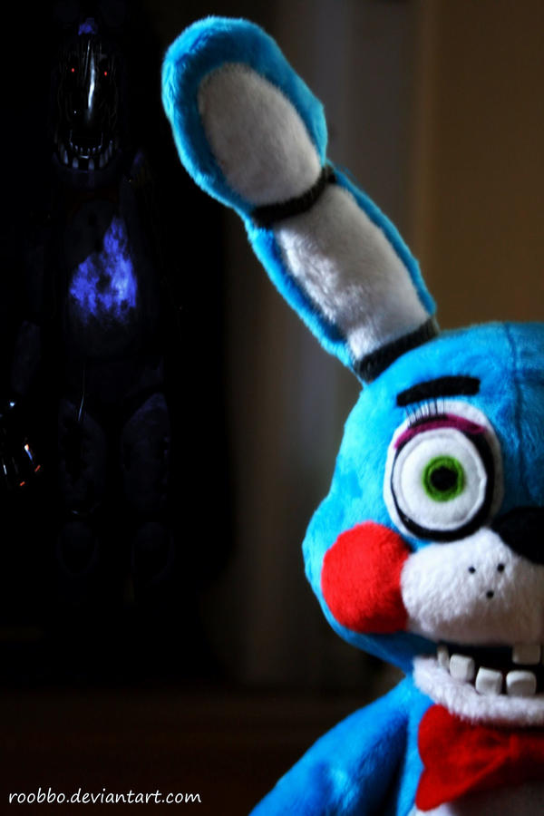 Five nights at freddy s toy bonnie plush by roobbo on deviantart