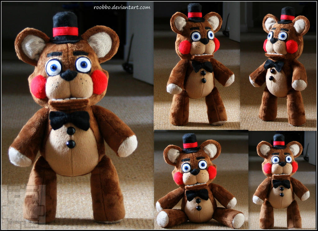 5 Nights At Freddy Toys : Five nights at freddy s toy plush by roobbo on