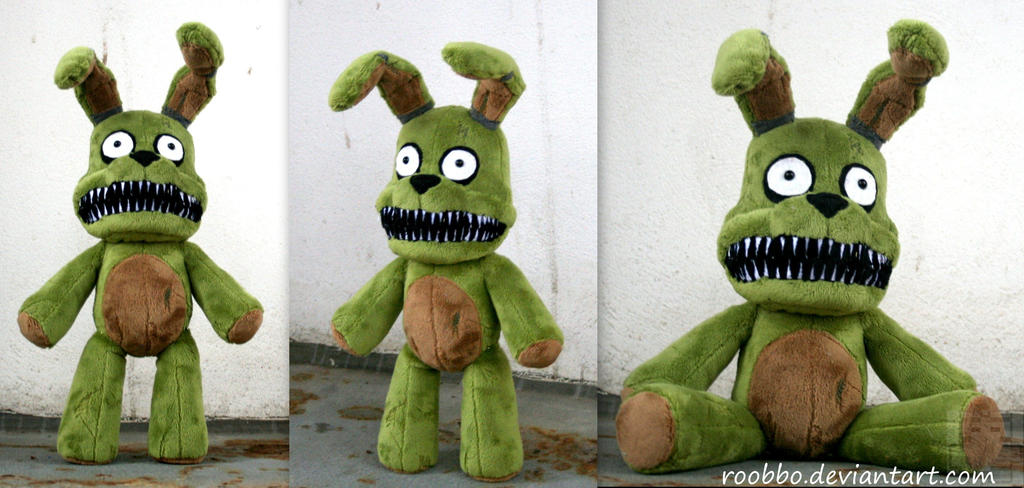 Five Nights At Freddys - Plushtrap Plush by roobbo