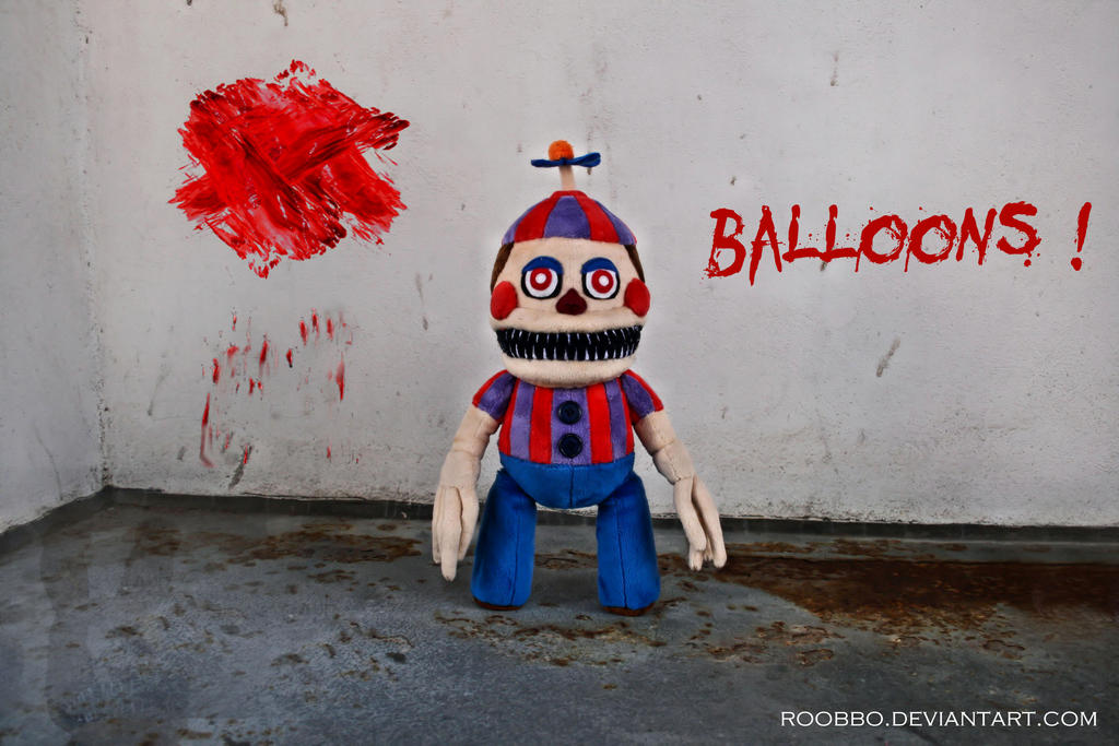 Nightmare Balloon Boy by roobbo