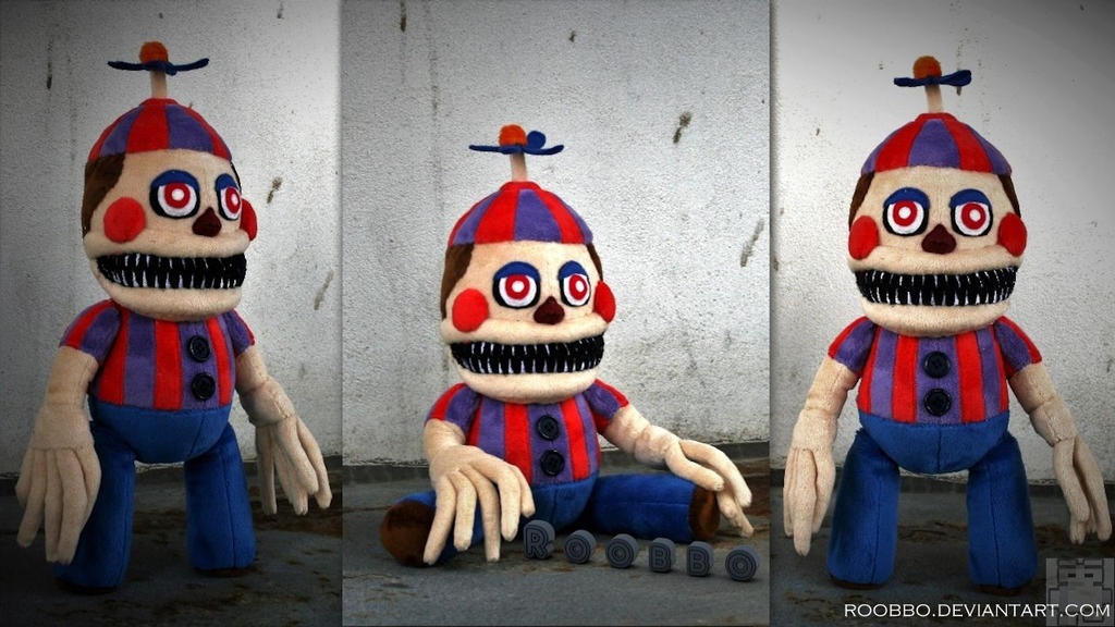 Nightmare Balloon Boy Plush by roobbo