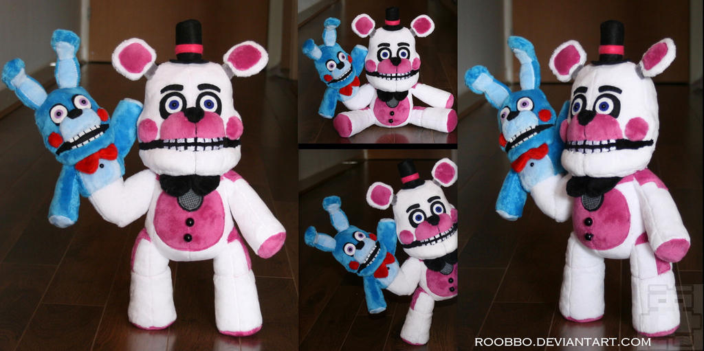 FNAF Sister Location - Funtime Freddy - Plush by roobbo