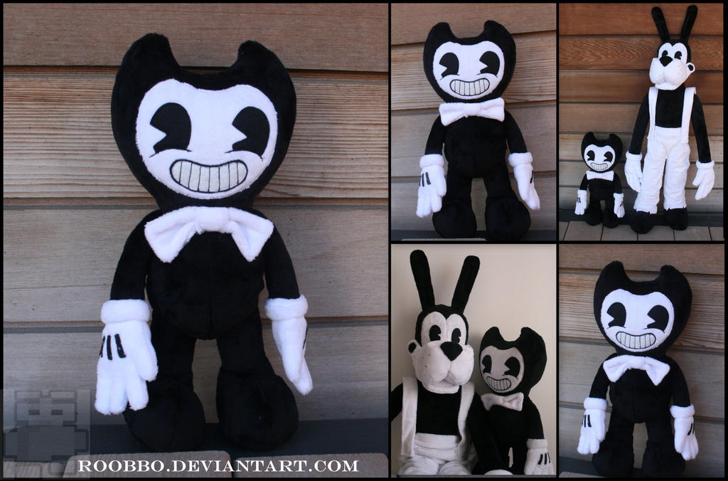 Bendy and the Ink Machine - Bendy Plush by roobbo