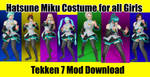 Hatsune Miku Costume for all Girls by Niku4186