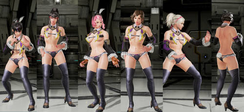 Tekken 7 Mod Boss Bunny for All Girls by Niku4186
