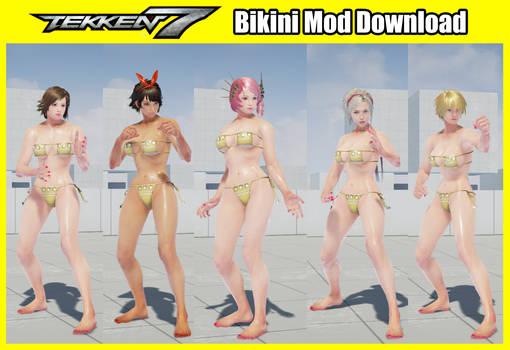 Tekken 7 Mod Yellow Bikini by Niku4186