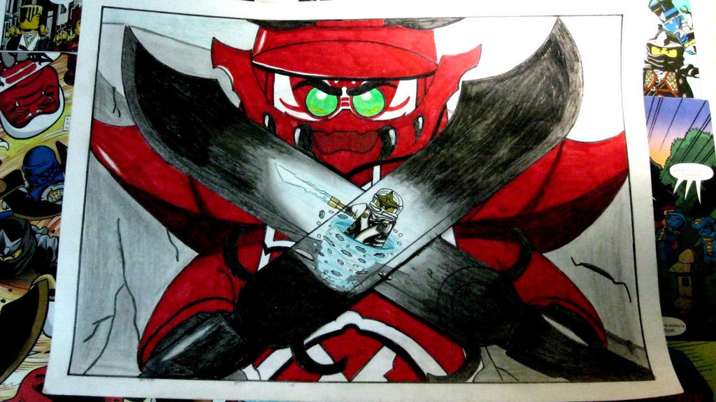 General kozu vs zane lego ninjago by vladislav2620 on deviantart - Ninjago vs ninjago ...