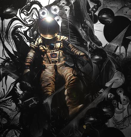 Astronaut by HalfManHalfBiscuitV2