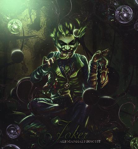 Joker extreme by HalfManHalfBiscuitV2