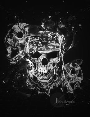 Skullworld by HalfManHalfBiscuitV2