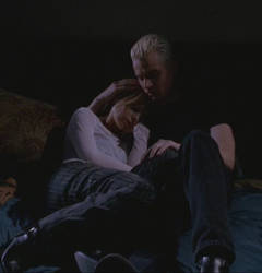Spike and Buffy by CheezeToast