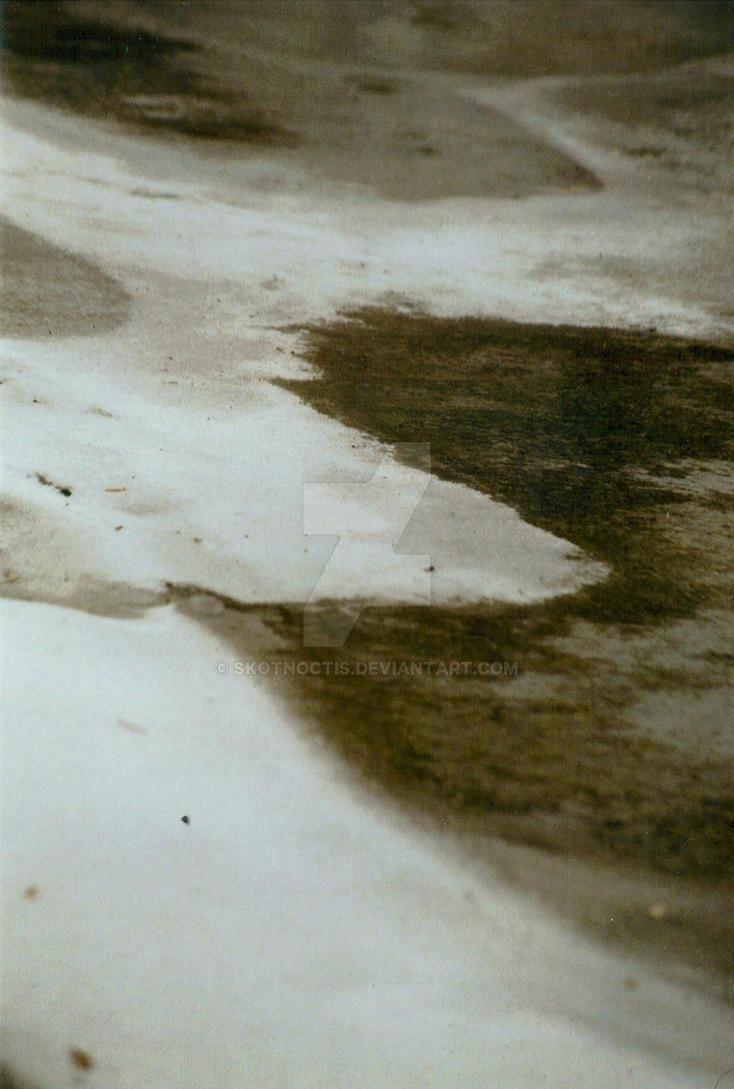 waves of ice, pensive by skotnoctis