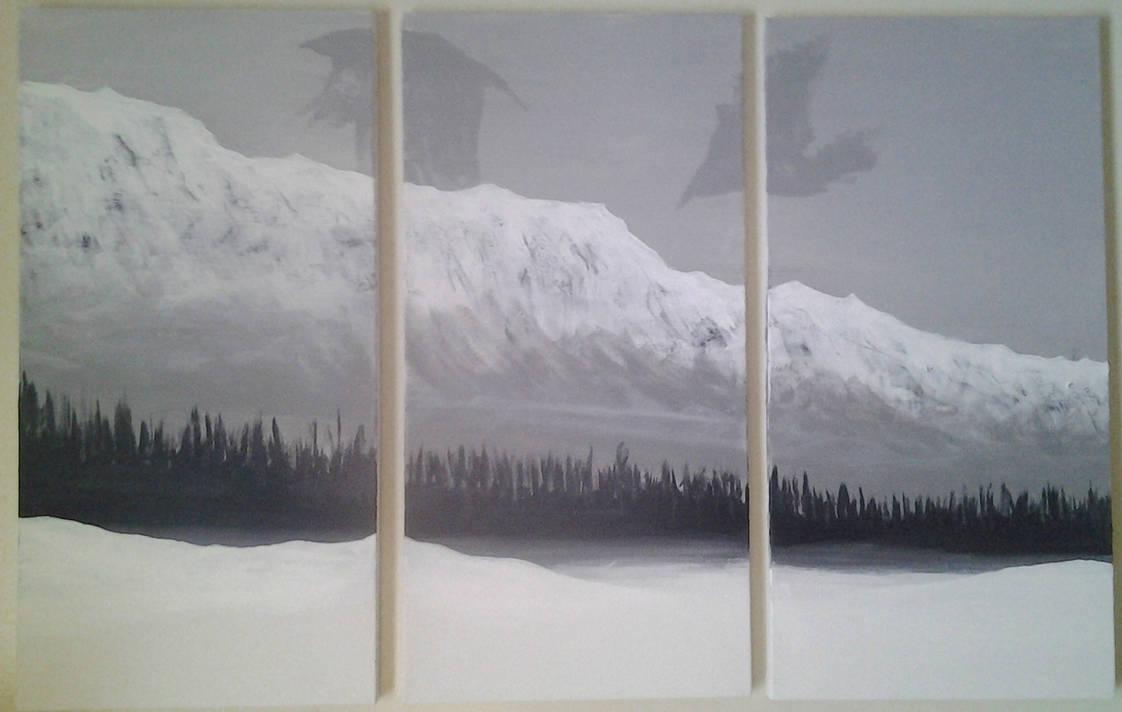 Mountains by skotnoctis