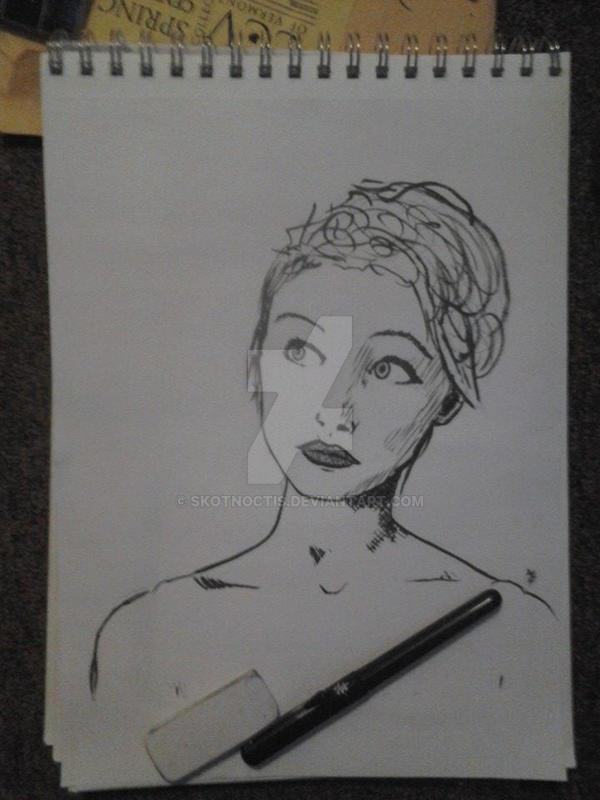 Girl1 by skotnoctis
