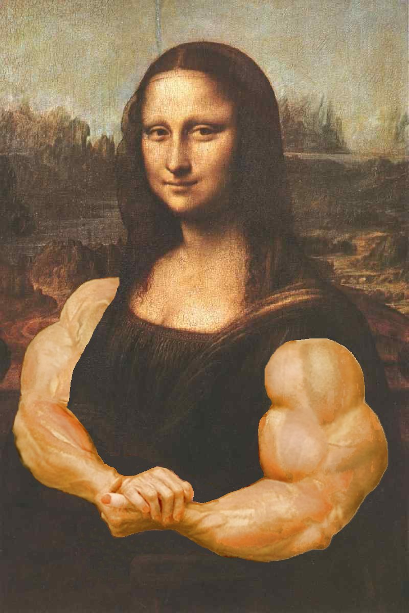 mona lisa the bodybuilder by califjenni3 on mona lisa the bodybuilder by califjenni3 mona lisa the bodybuilder by califjenni3