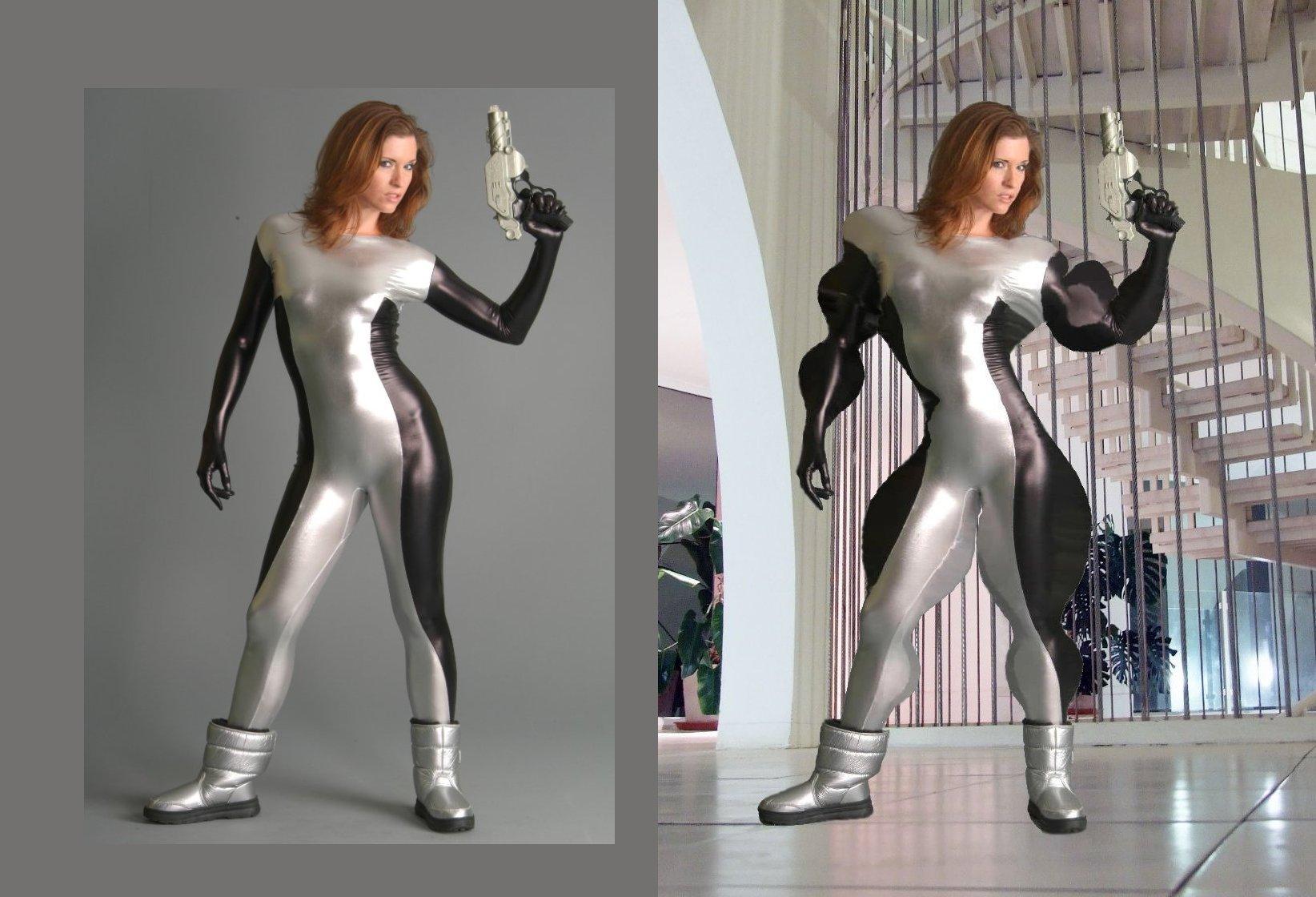 Buff Female Astronaut-compared by califjenni3