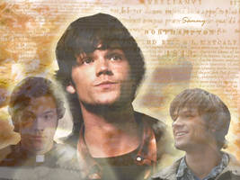 Supernatural Wallpaper - Sam by Blasfemme