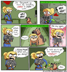 Fallout 4 by electricbunnycomics