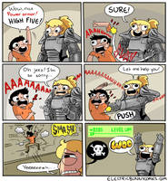 Fallout 4 Fun by electricbunnycomics