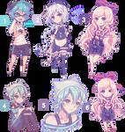 Pixel commission batch [Speedpixel]