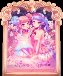Arina and Senka