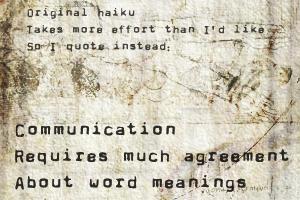 Tiny Things 1 - Haiku by jaxraven