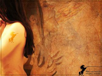 Stallion Wallpaper by jaxraven
