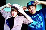 Justin Bieber with Alfredo xD