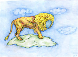 lion lost his face