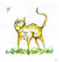 cat by aiculedssul
