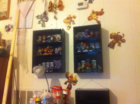 Skylanders Game Character Display Boxes