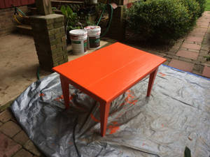 More restoration and carpentry