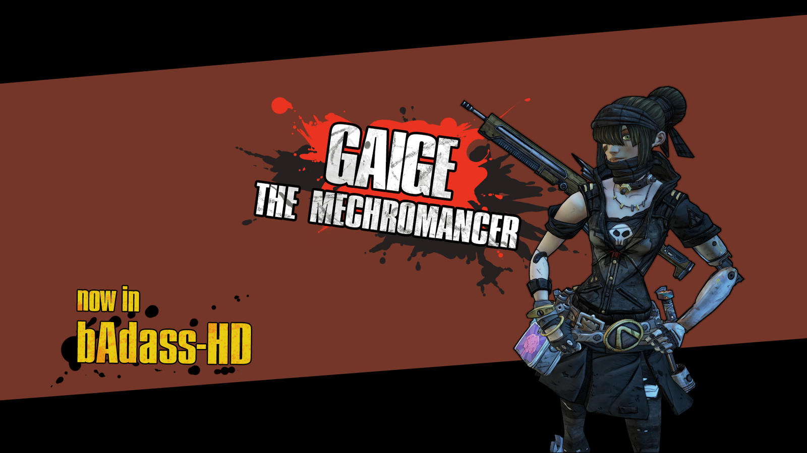 Gaige in hd borderlands 2 by green4gfx on deviantart gaige in hd borderlands 2 by green4gfx voltagebd Image collections