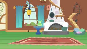 Fluttershy's Living Room