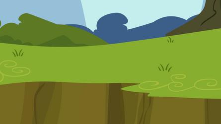 Grass Ledge Background