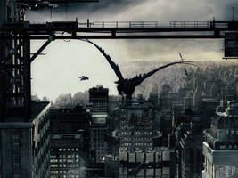 future city by Dream-Narrator