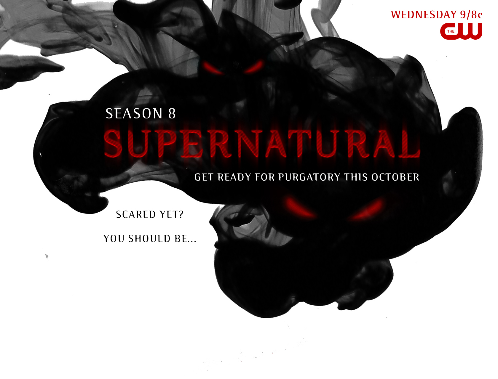 Supernatural season 8 title card background by spntfw on - Supernatural season 8 title card ...