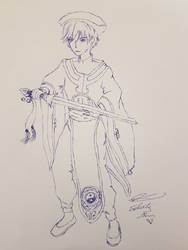 Syaoran in Ceremonial Robes by Selenity by NewTrials