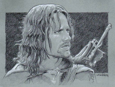Aragorn sketch commission