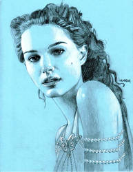 Padme Evening sketch by sarahwilkinson