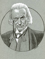 The 1st Doctor from Doctor Who by sarahwilkinson