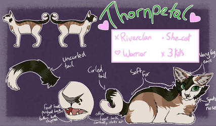 Thornpetal ref sheet (more info in description)