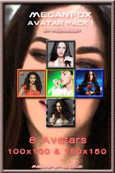 Megan Fox Avatar Pack 1