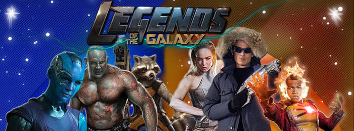 Legends of the Galaxy (Custom Facebook Cover)